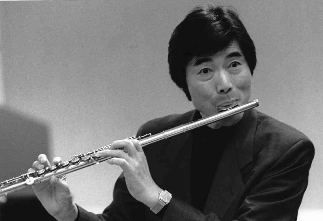 Toshio Takahashi and flute